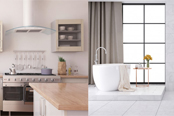 Μπάνιο & Κουζίνα